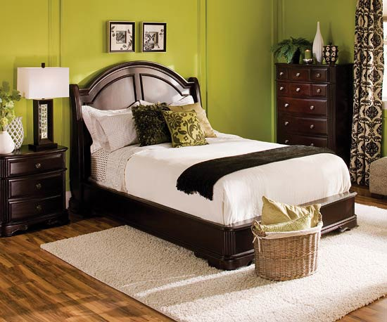 I love this furniture! My furniture is all unmatching and falling apart.  I would love to have furniture and decorations in my bedroom that all coordinated with each other!