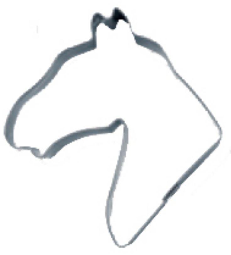 Keksausstecher Pferdekopf