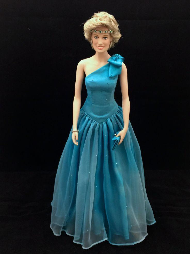 94 best Princess Diana Dolls images on Pinterest | Franklin mint ...