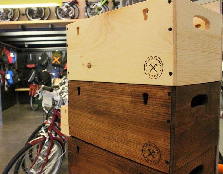 Caisse de bois «Caisserie McNeil»