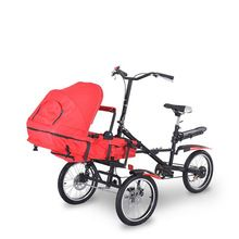 3 in1 Fashion Mother Baby Bike Strollers Carrier Bicycle Sale Price:  US $319.10