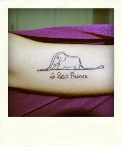 : Tattoo Ideas, Tattoo Drawings, The Little Prince, Elephants Tattoo, Le Petite Prince Tattoo, Matching Tattoo, A Tattoo, Children Books, Elephant Tattoos