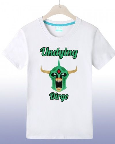 Dota 2 hero Undying cheap printed t shirts for boys-