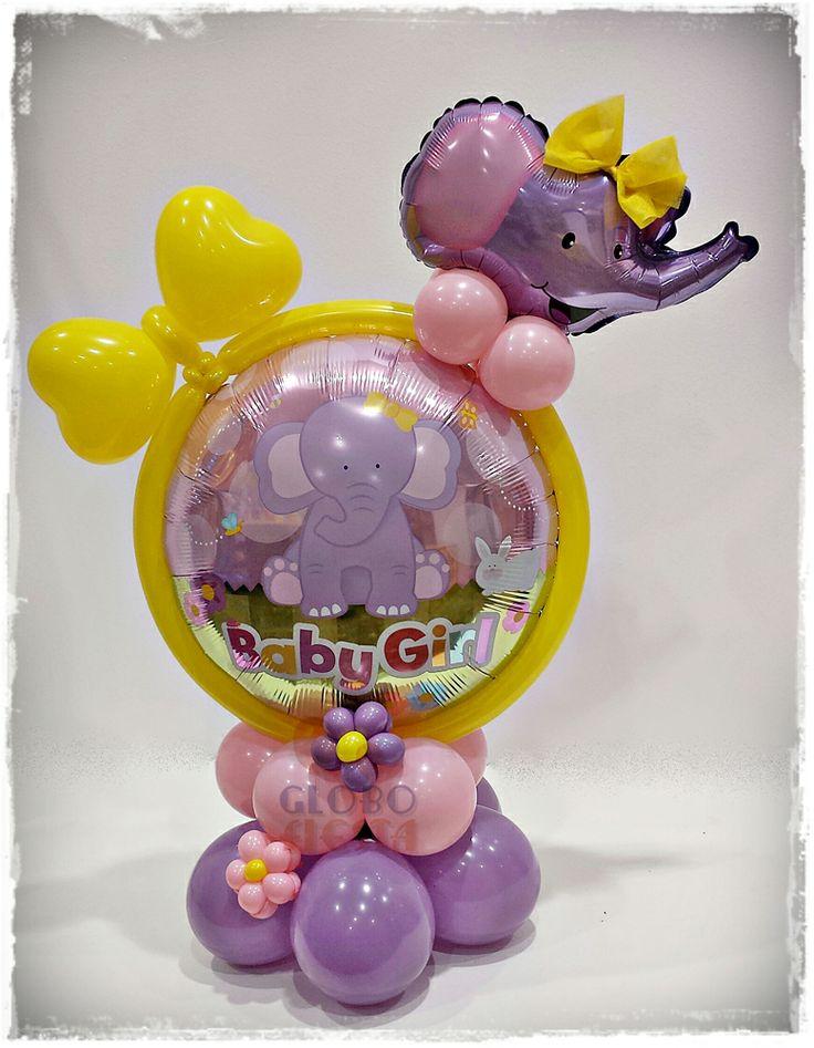 www.globofiesta.com Divertidos #globos #qualatex con #elefantes, ideal para decoraciones de los mas peques