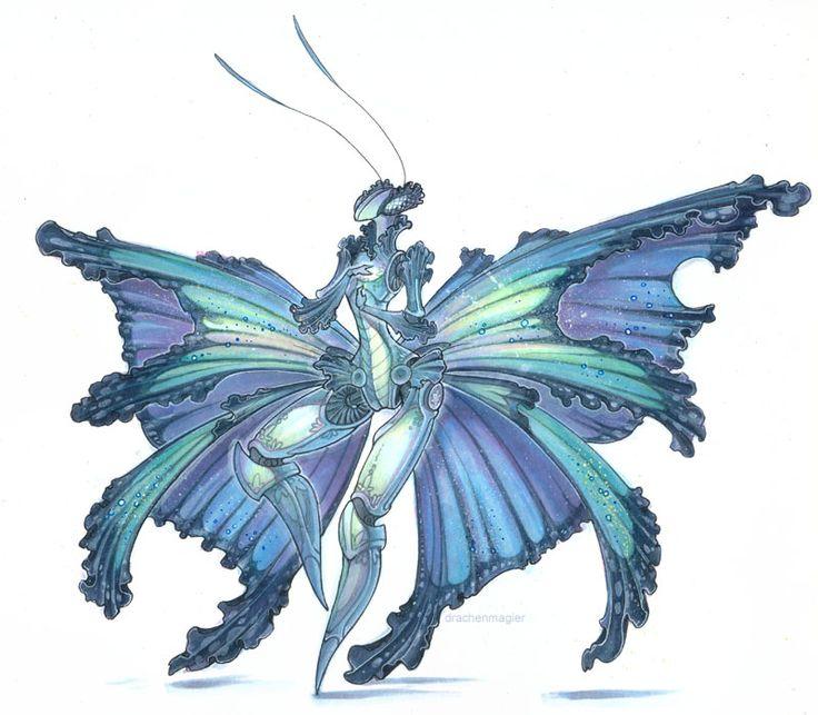 Blue Morpho by drachenmagier on DeviantArt