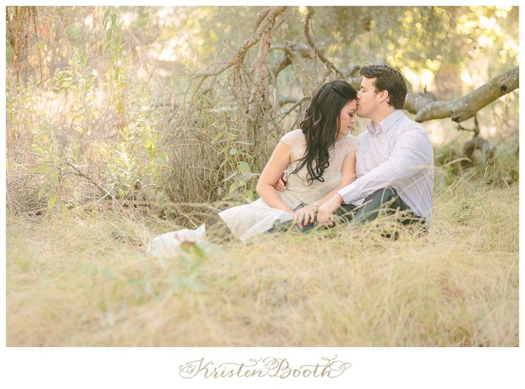 {Thad and Caroline} Romantic Orange County Engagement Photos