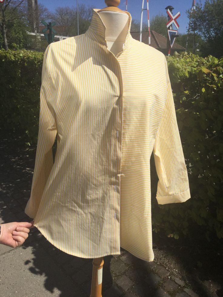 Klassisk skjorte i bomuldspoplin