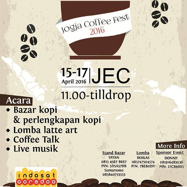 Pecinta Kopi, Yuk Merapat Ke Jogja Coffee Festival 2016 - http://yukdolanjogja.com/wp-content/uploads/2016/04/Jogja-Coffee-Festival-2016-1-1024x1024.jpg - http://yukdolanjogja.com/pecinta-kopi-yuk-merapat-ke-jogja-coffee-festival-2016/ -  #Coffee, #Event, #JogjaCoffeeFestival2016, #JogjaExpoCenter, #Yukdolanjogja