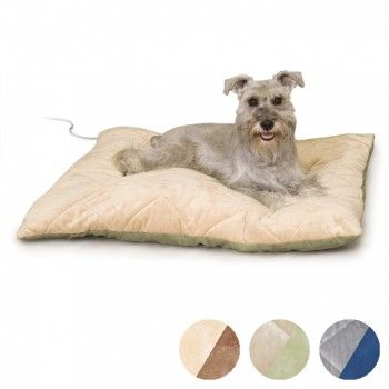 deluxe pad dog faux kennel small collections large lectro h with fleece bed beds heated k cover