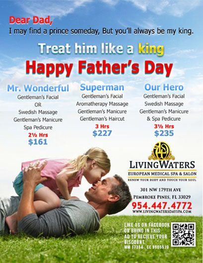father day specials wichita ks