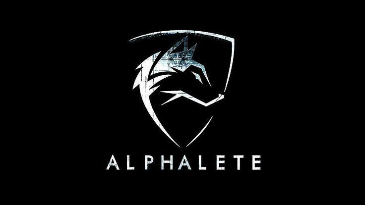 """Christophe EXTIER : Logo de la marque """"Alphalete Athletics"""" (Vêtements et équipements de musculation)."""
