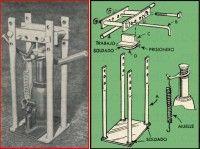 DOBLADORA HECHA DE UN GATO HIDRAULICO DE CAMION OCTUBRE 1959 000 copia