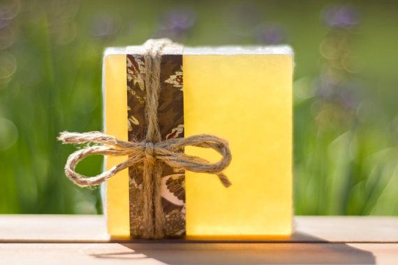 Pinot Grigio Scented Soap With Optional Natural Loofah - SLS-FREE Fruits & Florals Collection
