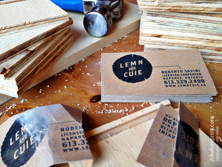 Have you ever seen Sand Paper business cards? Another cool project from #jukeboxprint