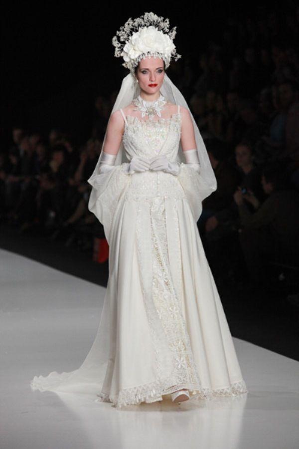 Свадебные платья от Вячеслава Зайцева