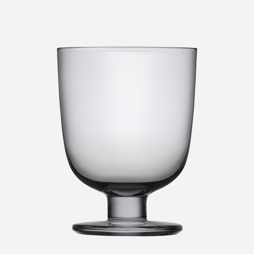 Iittala - Products - Drinking - Everyday drinking - Glass 34 cl grey