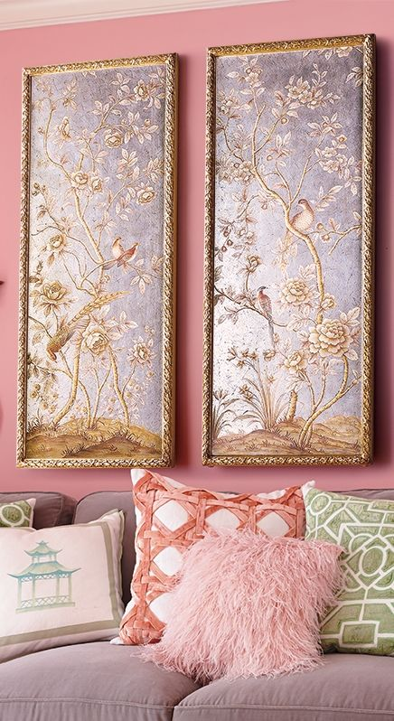 Chinoiserie Chic: A Fanciful and Fabulous Look. Click this pin for decorating tips!  | Frontgate Blog
