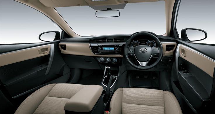 Corolla Altis 1800G Interior3