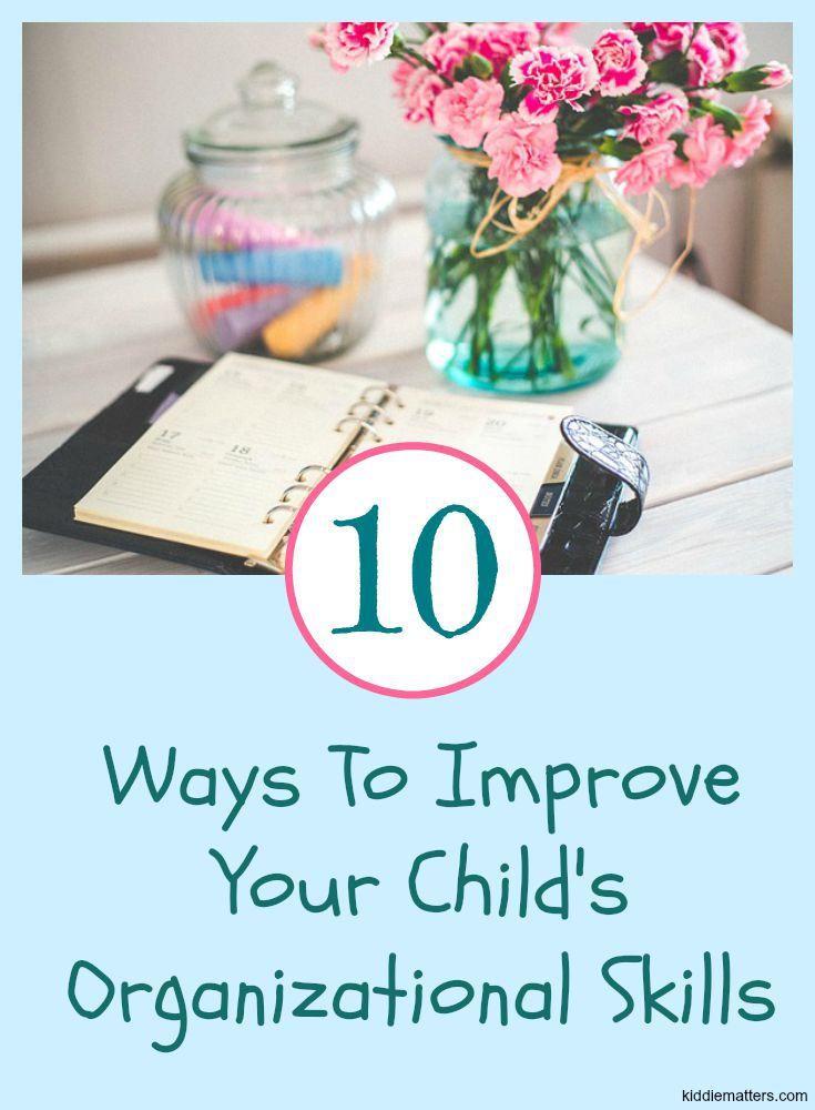 foto de 10 Ways To Improve Your Child's Organizational Skills