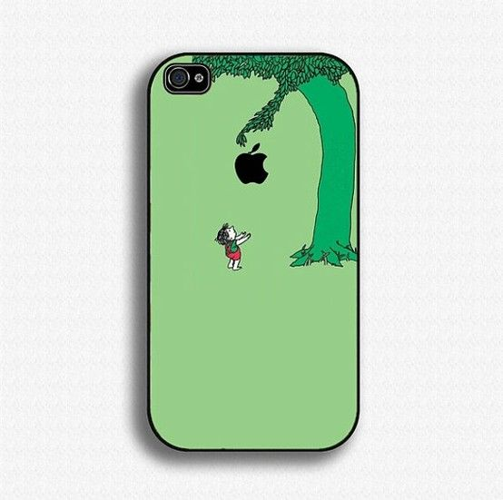 I want!: Iphone Cases, The Giving Tree, Apple, Childhood Book, Trees, Favorite Book, Iphone Cover, Shel Silverstein