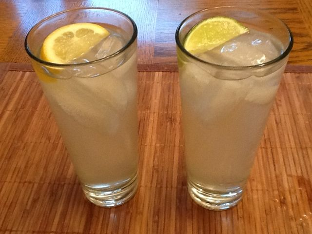 Miranda Lambert's pre-show drink of choice: the Randa-Rita.  Bacardi light rum, Crystal light, and Sprite zero. Can't wait to try this!
