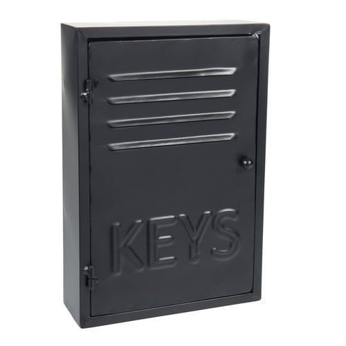 Metalen BLACK KEYS sleuteldoos H 30 cm