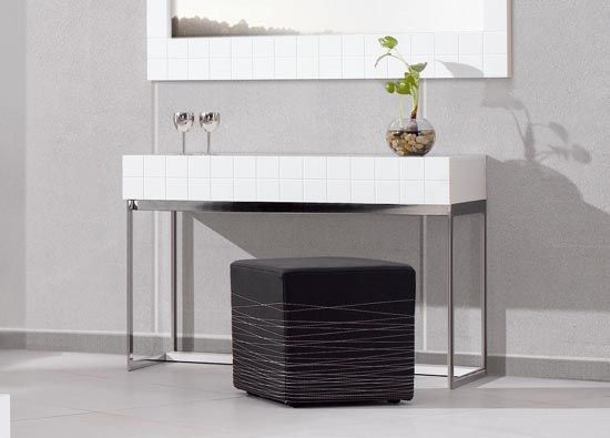 Modern White Foyer Table : Images about console table on pinterest modern