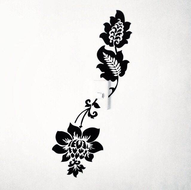 Black and White stickers