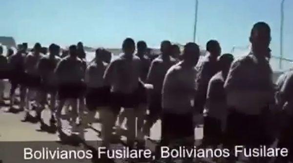 """Cánticos """"xenófobos"""" en el Ejército chileno"""
