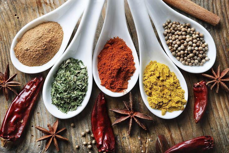 Kryddiga rubbar till grillat. Foto: Shutterstock