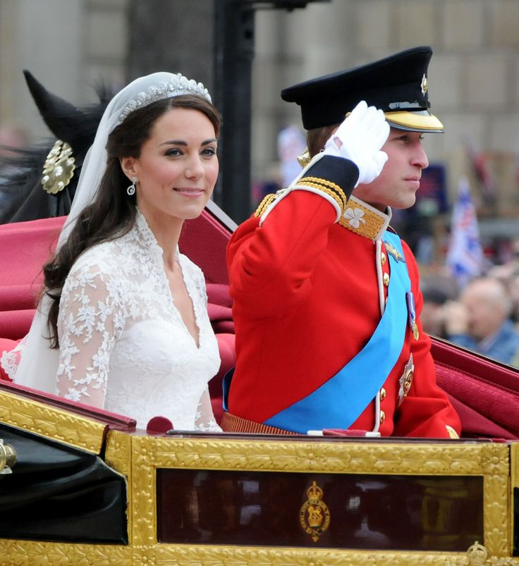 william and kate royal wedding - hair style