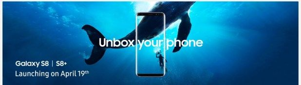 Samsung Galaxy S8 and Galaxy S8 to be available for pre-order starting tomorrow exclusively from Flipkart