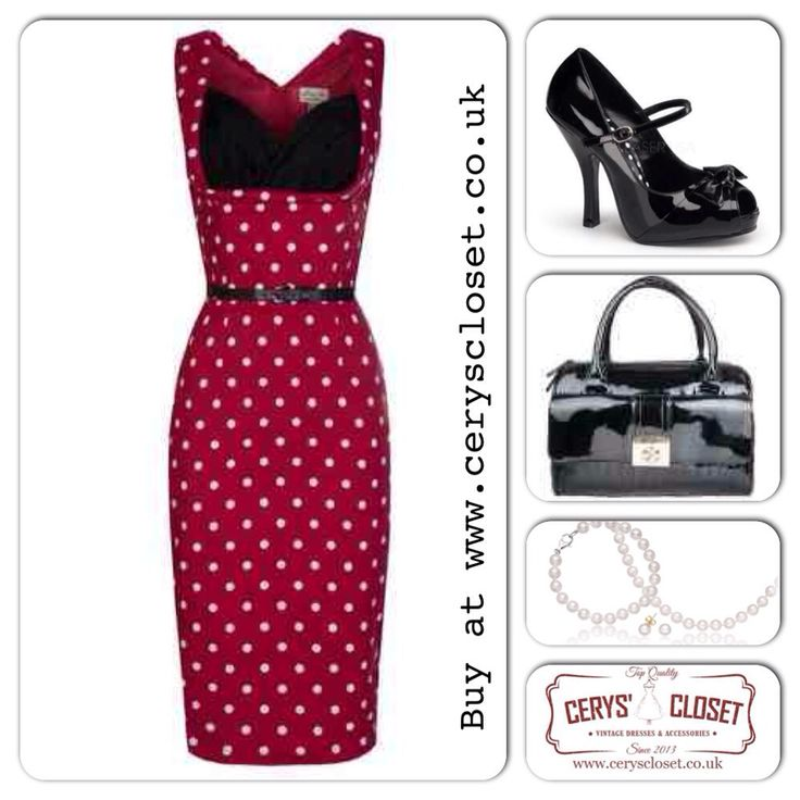 Date night, vintage dress, valentines outfit, wedding outfit.... Be inspired ladies x