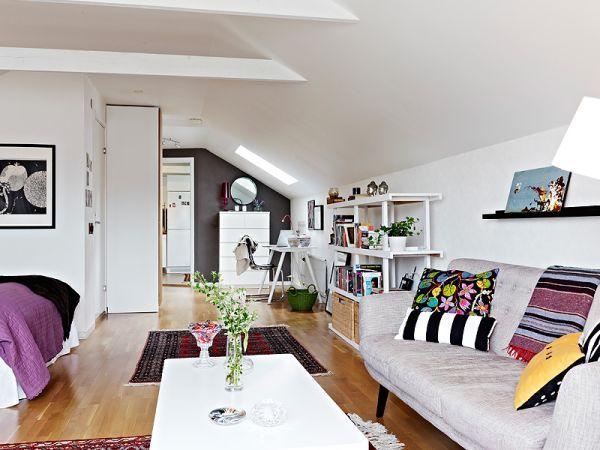Best 25 small attics ideas on pinterest - Comment decorer un appartement blanc ...