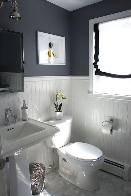 Salle d'eau couleur de peinture