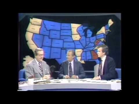US Election Night 1980 NBC live coverage 11-4-1980 - YouTube