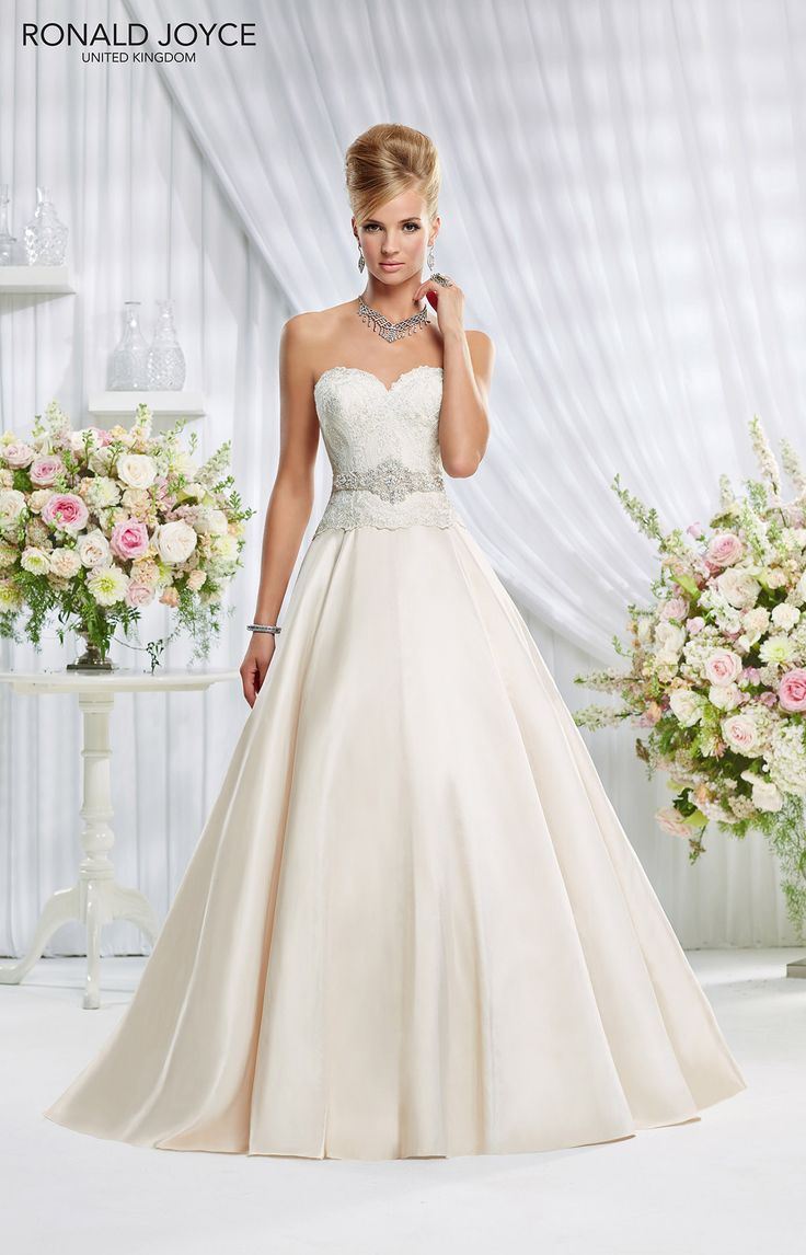 26 best A-line wedding gowns images on Pinterest | Short wedding ...