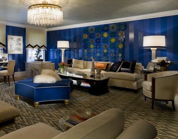 An Interior Design Tribute To Blue Blue Living Room Decor Blue
