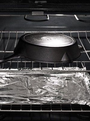 How to Reseason a Cast Iron Skillet - How to Season a Cast Iron Frying Pan at WomansDay.com - Woman's Day