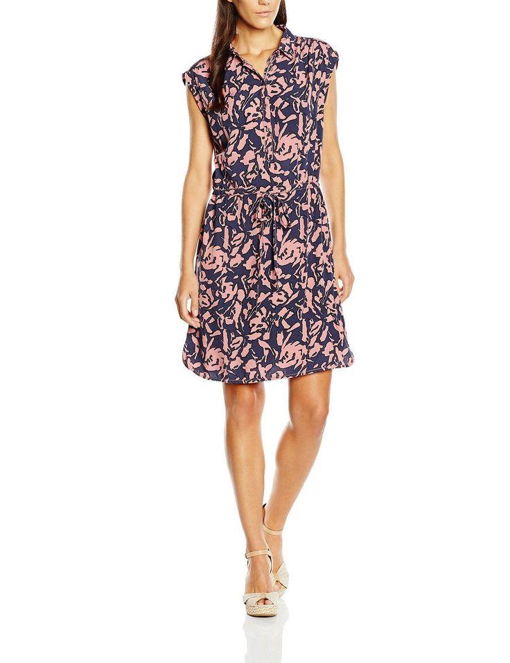Vestido hipster mujer sin mangas con diseño estampado floral, es ideal para esta primavera - verano.