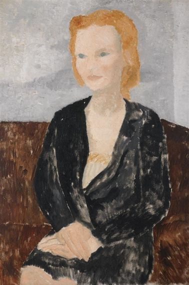 Young Girl (1928) by Christopher Wood