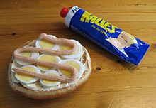 Kalles kaviar - can be purchased online at swedensbest.com, so I don't have to go all the way to Ikea.