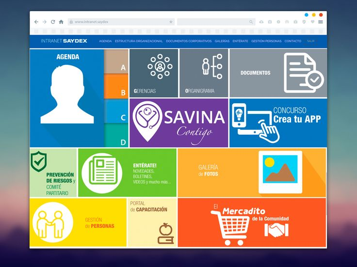 intranet SAYDEX