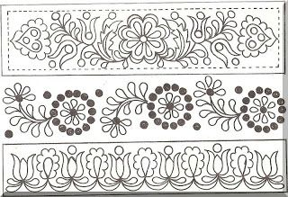 Slovak folk pattern