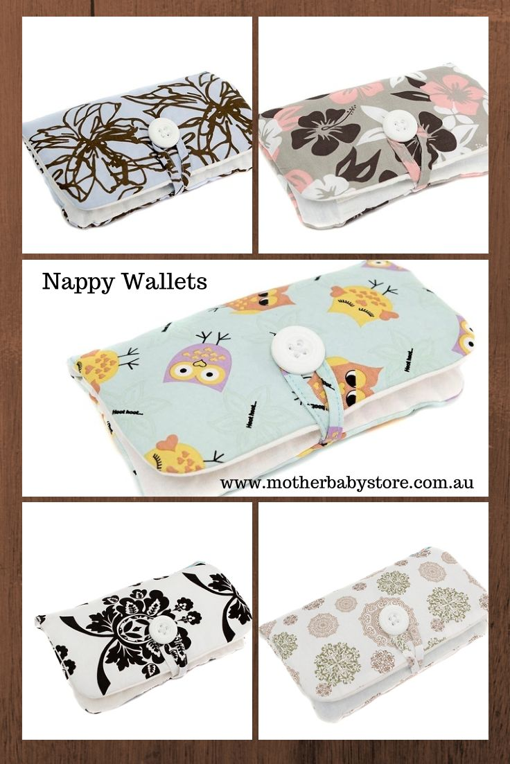 Nappy Wallets available at www.motherbabystore.com.au