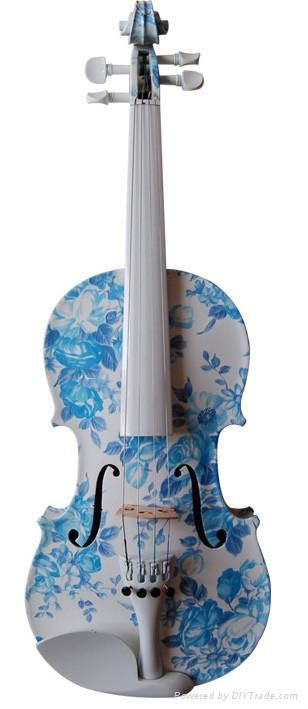 A design for an electric violin.