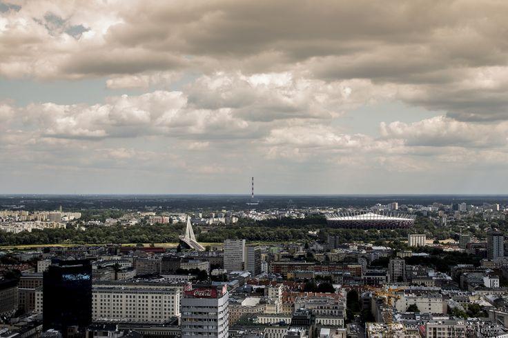 Uitzicht op Warschau | by Viktorvtk