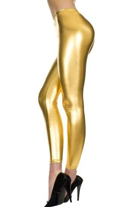 Get this midas touch today with these awesome and new in stock metallic gold leggings. Shop today at http://www.heavencostumes.com.au/midas-touch-gold-metallic-leggings.html
