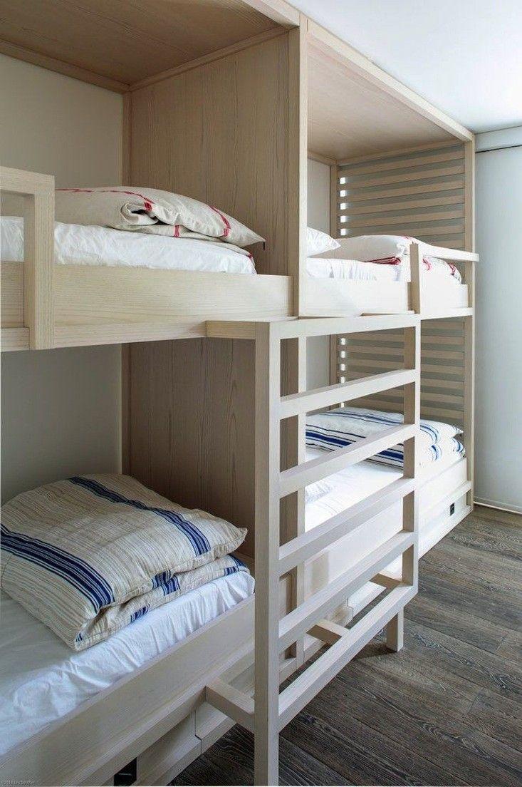 Perfect for the cabin/sleepovers  Pushelberg and Yabu Beachouse in Hamptons | Remodelista