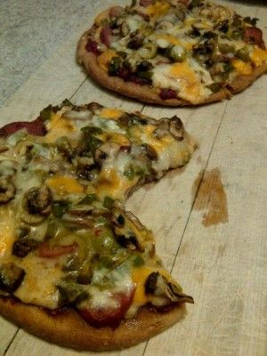 How to Bake Pizza with Everything - Except Anchovies! #pizza * Subscribe to Cooking With Kimberly: http://cookingwithkimberly.com/